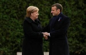 macron and merkel unite in struggle for europe