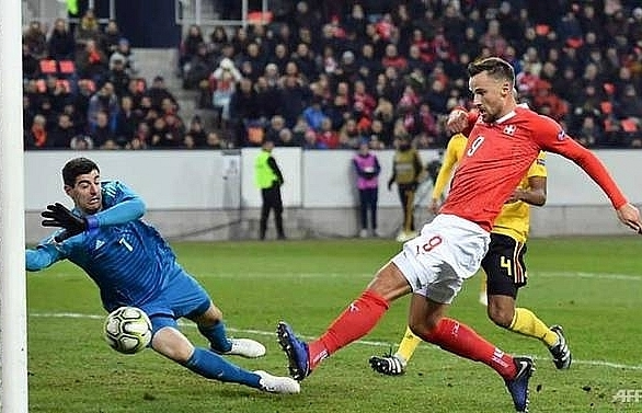 seferovic hat trick helps swiss stun belgium to reach semi finals