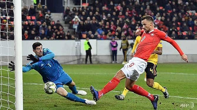 seferovic hat trick helps swiss stun belgium to reach semi finals