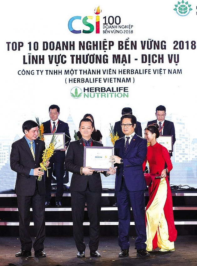 herbalife vietnam impressive progress in sustainability