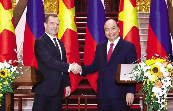 russian energy ties receive boost
