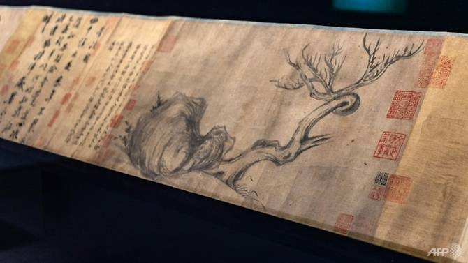 ancient chinese painting auctioned for almost us 60 million