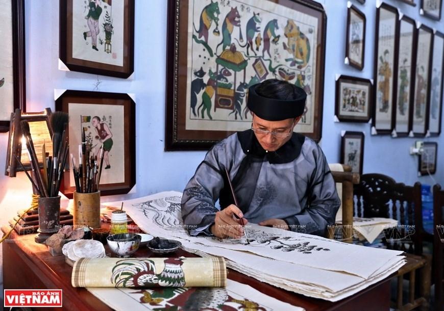 dong ho paintings reveal vietnamese unique folk culture