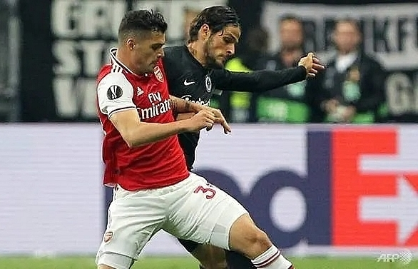 arsenal captain xhaka to miss wolves clash as fan feud rumbles on