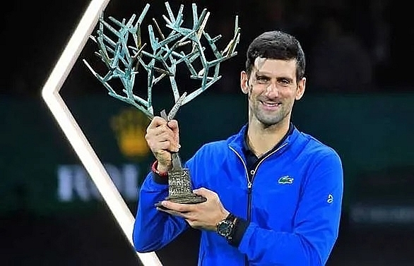 djokovic cruises to fifth paris masters title