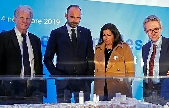 paris launches works on 2024 olympic village