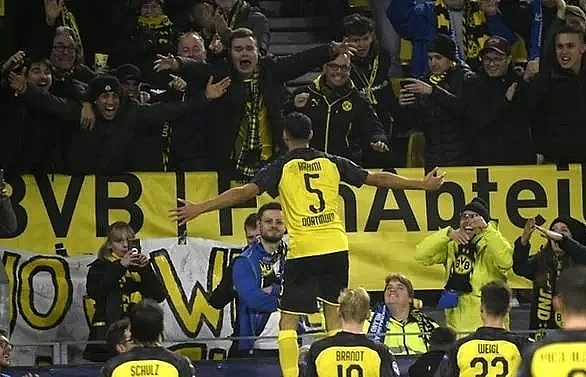 hakimi double seals stunning dortmund win over inter milan