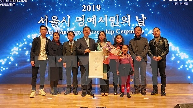 first vietnamese awarded honorary citizen of seoul