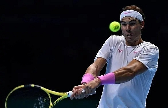 nadal sweats on semis spot at atp finals after beating tsitsipas