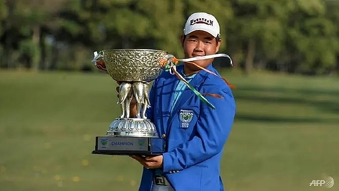 korean teen sensation wins panasonic open