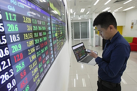 large caps contract vn index falls deeper