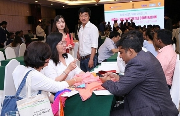 vietnam india enhance closer cooperation in textile sector