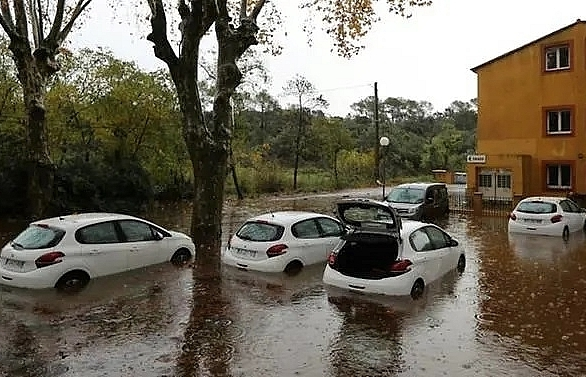 two dead one missing after rainstorms drench south france