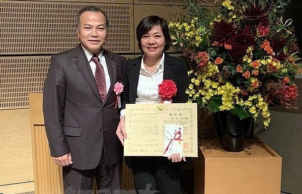 vietnamese scientist honoured with japan intl award