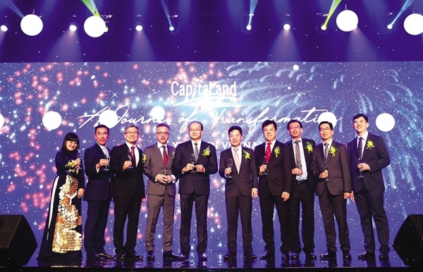 capitaland toasts 25 year journey