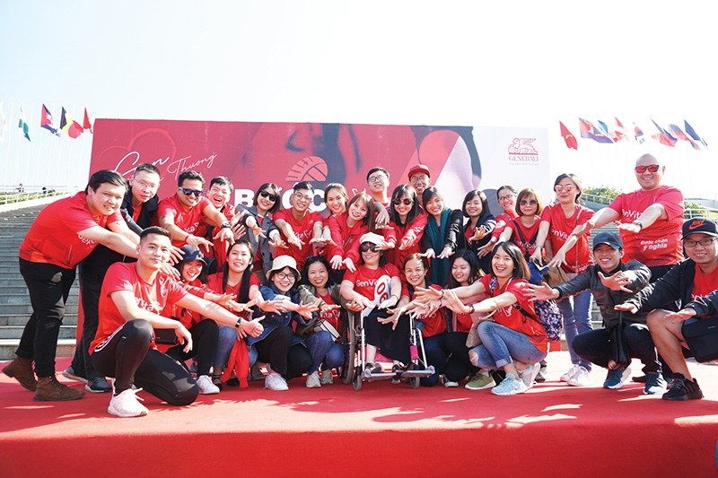 generali vietnams happy workforce