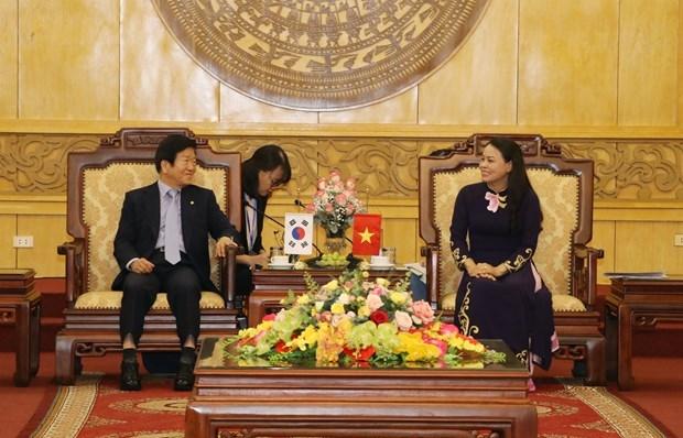 korean national assembly speaker visits ninh binh province