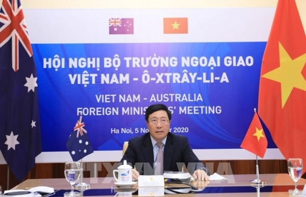 australia wants to set up comprehensive strategic partnership with vietnam fm