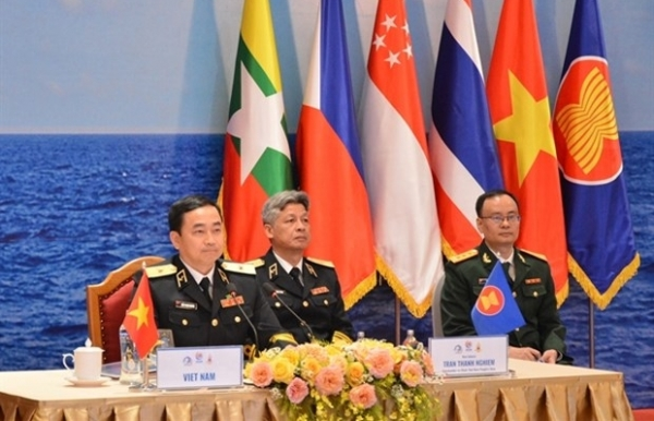 asean navy chiefs call for stronger co operation
