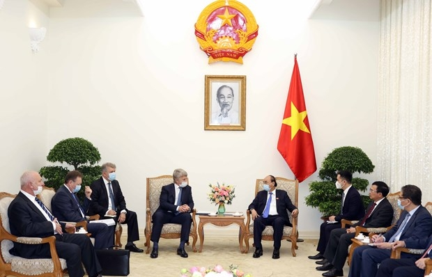 pm highlights big opportunities for russian investors in vietnam