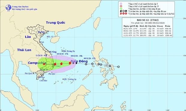tropical depression grows into storm etau