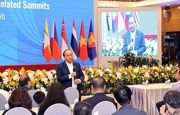 prime minister checks preparations for 37th asean summit related events