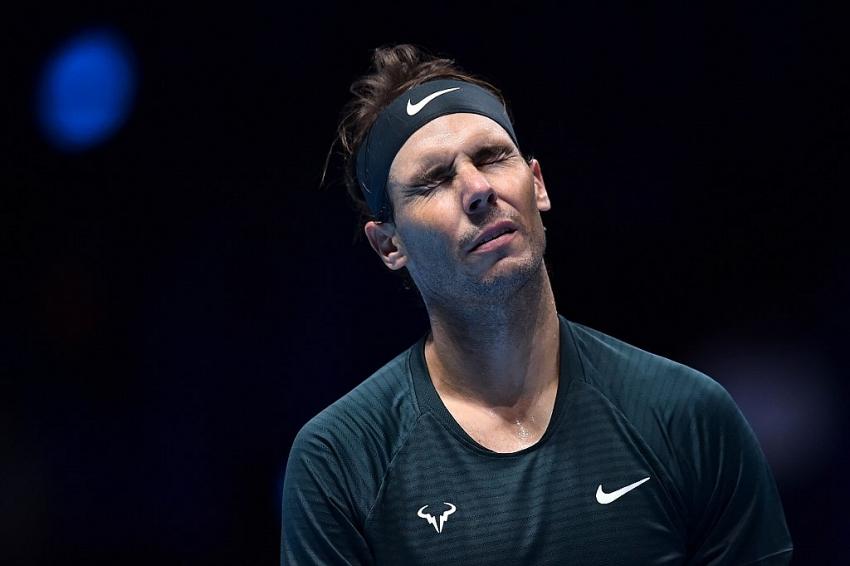 Rafael Nadal beats Stefanos Tsitsipas to reach last four ...   Nadal Tsitsipas