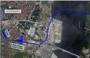 malaysia begins construction of singapore johor rts link