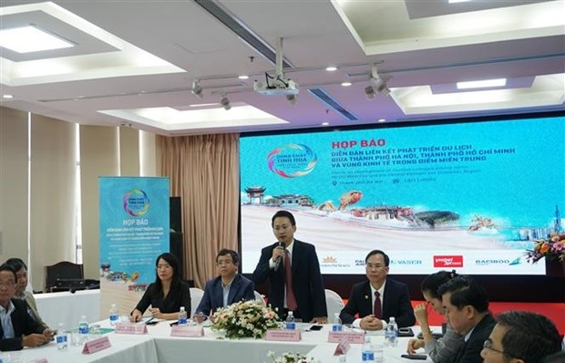 hanoi to join tourism development forum with hcm city central provinces