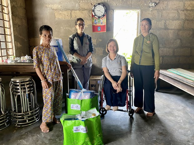 usaid supports flood affected people with disabilities in thua thien hue