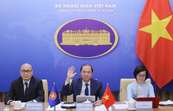 asean cooperation in 2020 lays foundation for next stage vietnamese diplomat