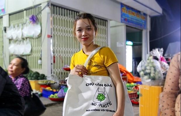 con dao island launches zero plastic waste programme