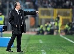 under pressure benitez sees inter slump to lazio