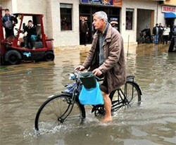 flood chaos in balkans as europe begins to thaw