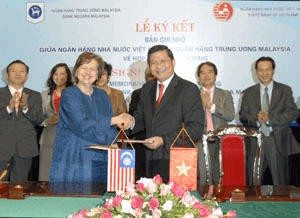 central banks of vietnam and malaysia agree to co operate