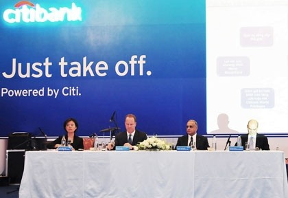 citibank to take off in vietnam