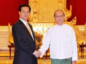 vietnam myanmar agree to increase trade ties