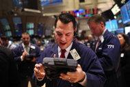US stocks rise on jobs news