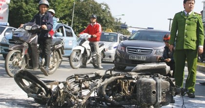 alleged honda bike explosion case is firing up public opinion
