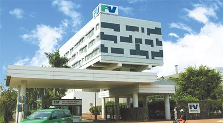 FV Hospital works for shot in arm
