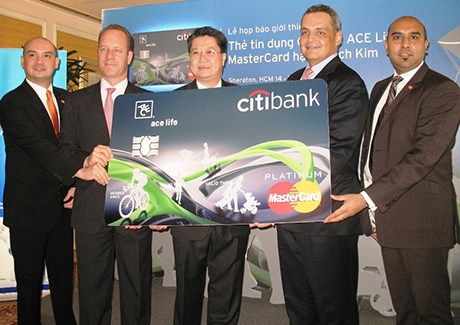 Citibank-ACE Life Platinum MasterCard card available in Vietnam