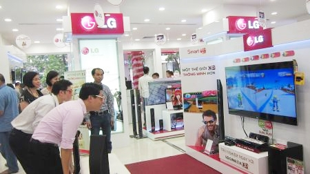 attractive promotions at lg brand shop system
