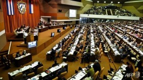 Cuban parliament rubber-stamps normalization with US