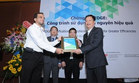 Two Vietnamese projects awarded the EDGE certifications