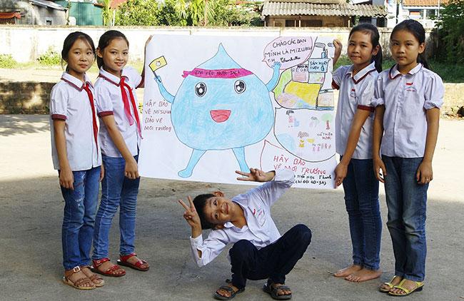 Suntory Pepsico Vietnam helps improve water awareness of over 1,600 primary school students