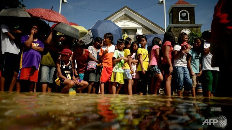 Santa absent this year in typhoon-hit Philippines