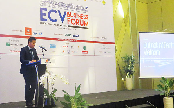 eurocham holds business forum for central vietnam