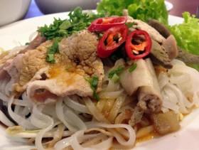Hu Tieu Noodle in Sa Dec