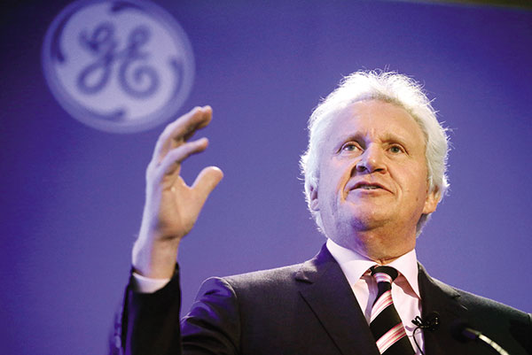 Jeff Immelt, GE's chairman and CEO