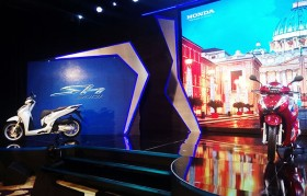 Symbolic Honda SH300i launched